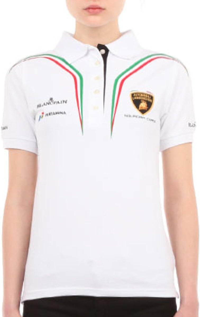 Lamborghini Squadra Corse Ladies White Polo 51Ln5WYlV5L