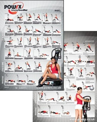 Complete Whole Body Vibration Training Charts , 60 Exercises PLUS 3 Month Personal Vibration Training Programme tailored for YOU . Vibration Training for Strength , Tone, Stretch and Massage.