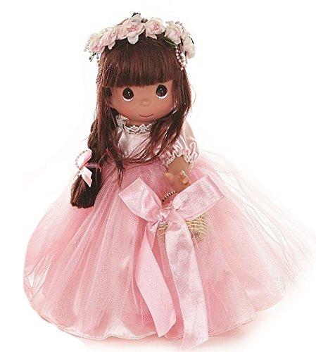 [Precious Moments Precious as a Petal Brunette Doll] (Precious Moments Angel Doll)