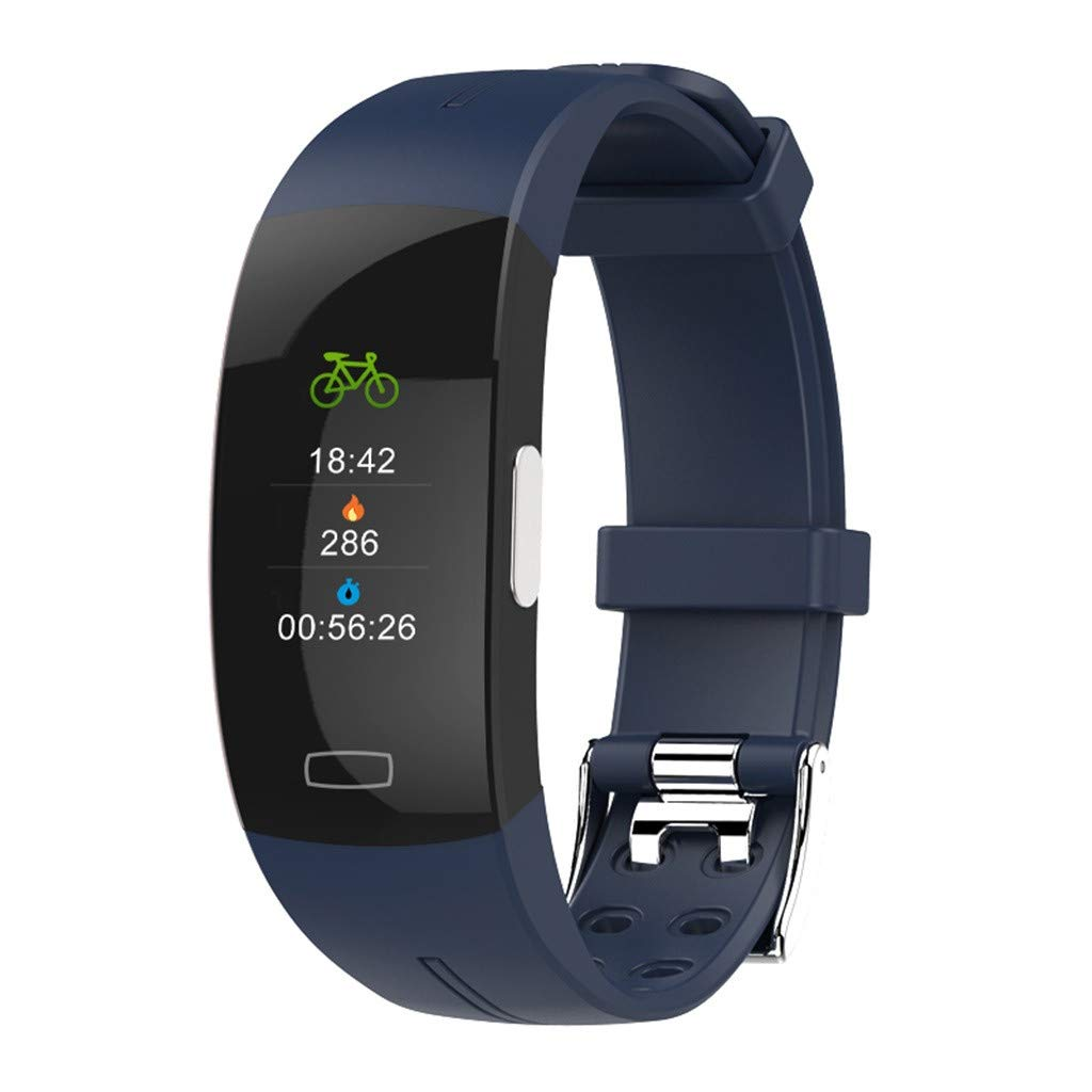 Smart Watch Color Screen Heart Rate ECG Bracelet Wristband for iOS Android Under Dollar