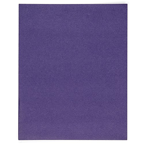 Blue Summit Supplies 50 Two Pocket Folders, Designed for Office and Classroom Use, Assorted 5 Colors, 50 Pack Colored 2 Pocket Folders by Blue Summit Supplies (Image #2)