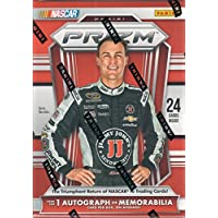 fan products of 2016 NASCAR Panini Prizm Racing Series Unopened Blaster Box of Packs with One GUARANTEED Autographed or Memorabilia Card