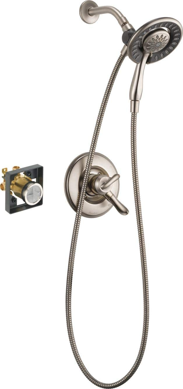 Valve Not Included Symmons S-3500-CYL-B-TRM Dia Shower Valve Trim in Polished Chrome