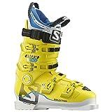 New Salomon X Max 130 Alpine Downhill Ski Boots - White/Yellow - 2017