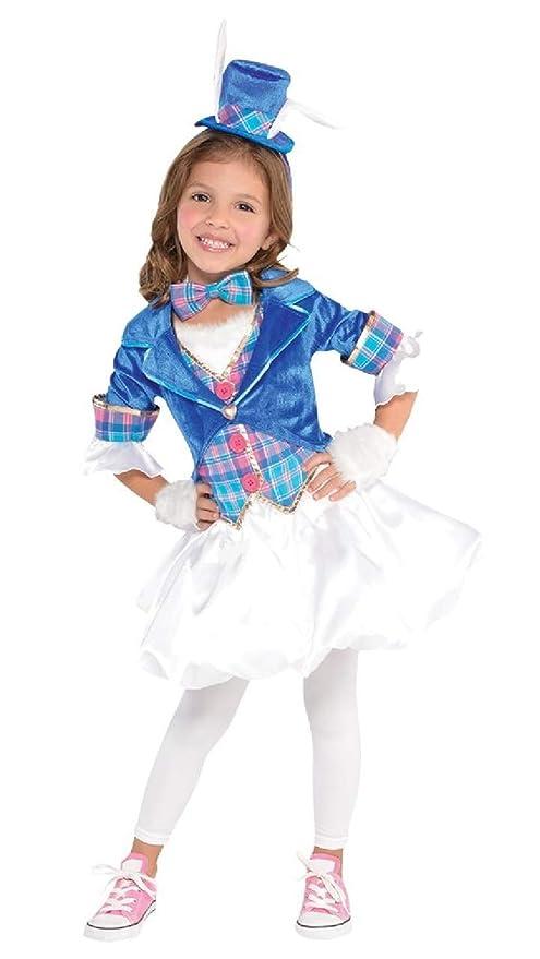 Fancy Me Disfraz de Alicia y el País de Las Maravillas, para niñas ...