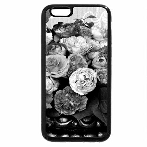 iPhone 6S Case, iPhone 6 Case (Black & White) - ROSES for ALBA