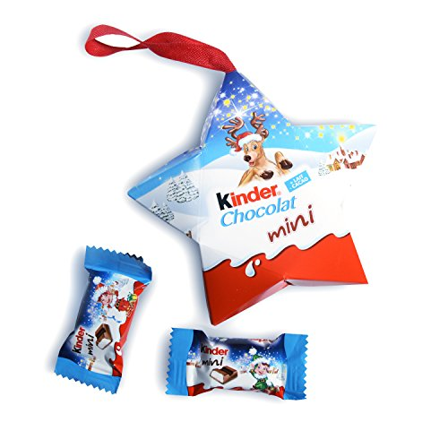 Kinder Mini Chocolate - Star Shaped Tree Ornament