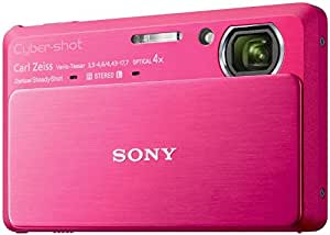 """Sony TX Series DSC-TX9/R 12.2MP Digital Still Camera with """"Exmor R"""" CMOS Sensor and 3D Sweep Panorama"""