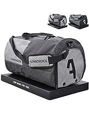 Alphachoice Sporttasche mit Schuhfach 43L für Herren & Damen, Fitnesstasche - Reisetasche groß mit vielen Fächern, 55cm x 28cm x 28cm