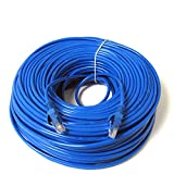 Konex (TM) Ethernet Cable Cat6 200ft Blue, Network Cable Wire Cat 6 Ethernet Patch Cable Cord, Internet Cable With Snagless RJ45 Connectors - 200 Feet Blue