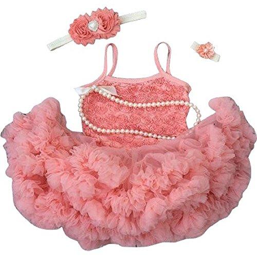 1f72f511b38 Kadees Kloset Tutu Dress. Peach tutu. First Birthday Outfit.