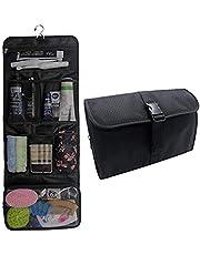 4e2da0ca7695 Hanging Toiletry Bag Travel Kit for Men and Women Waterproof Wash Bag  Compact Makeup Organizer Bag
