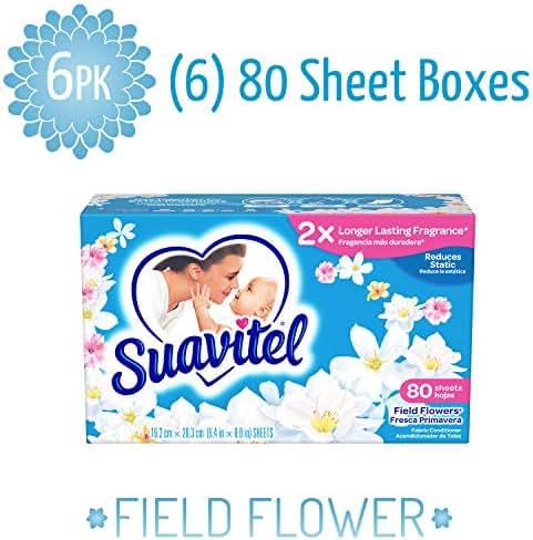 Dryer Sheets: Suavitel