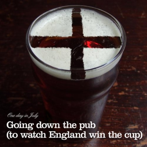 Going Down the Pub (to watch England win the -