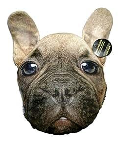 "Almar French Bulldog Plush Pillow 11"" x 13"" x 4"""