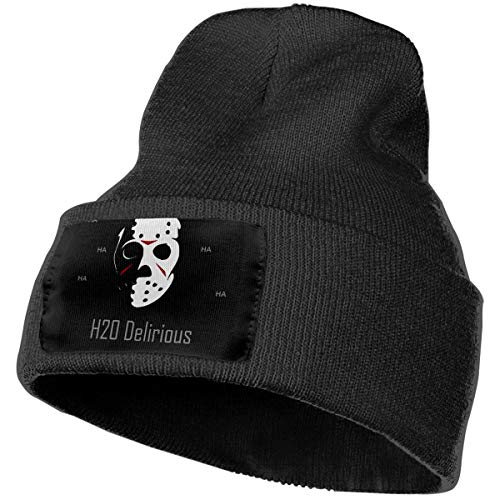 - JimHappy H2O-Delirious Hat for Men and Women Winter Warm Hats Knit Slouchy Thick Skull Cap