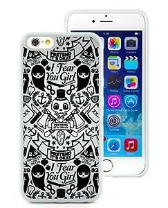 iPhone 6 Cover Case,R2d2 Black Cool Customized iPhone 6 4.7 Inch TPU Case