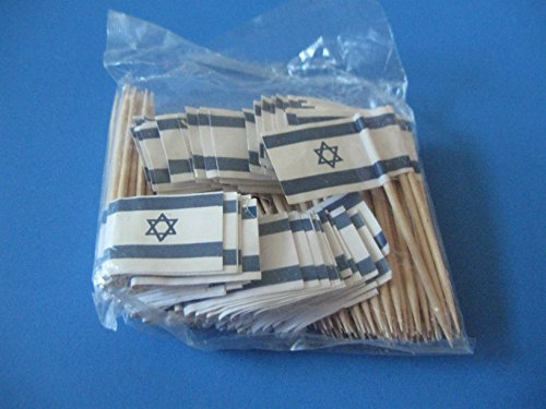 Israel Israeli Flag Toothpicks 100 product image