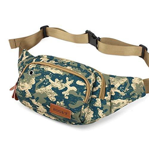 TRRE Herrenbrusttaschenaußensporttasche Tasche Freizeit-Reitpaket Telefonpaket, L20cm * W5cm * H12cm