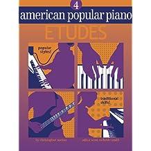 American Popular Piano - Etudes: Level Four - Etudes