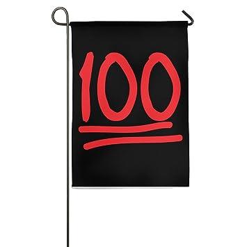 Amazon Keep It 100 Emoji 100 Logo 100 Polyester Fabric Flag