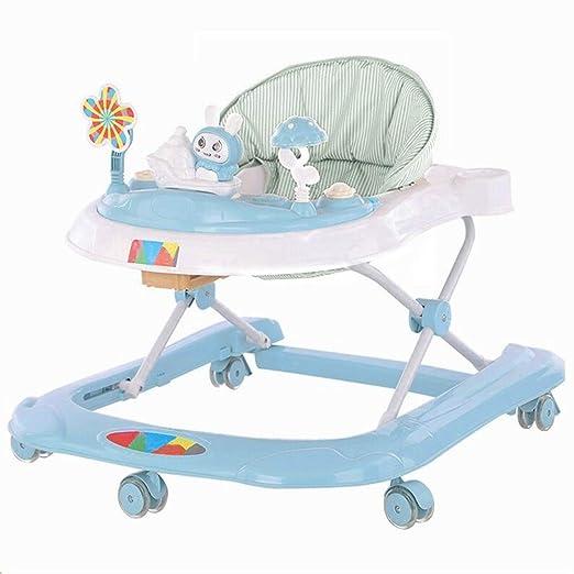 Andador Empuje la música del bebé plegable Walker coche ajustable ...