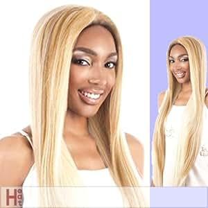 Motown Tress - L. SUPER - Heat Resistant Fiber Lace Front Wig in 1