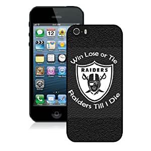 Iphone 5S Protective Skin Case Oakland Raiders 21 iPhone 5 5S Black Phone Case Cover 29370