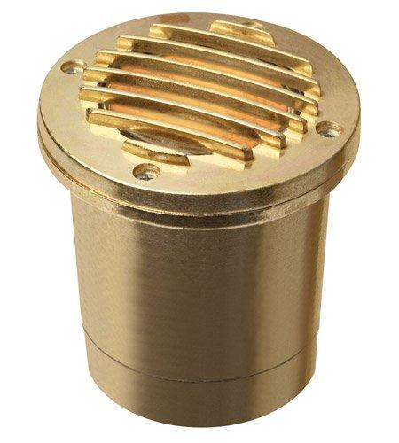Hinkley Lighting 1599BS, Brass MR16 50 Watt Maximum Well Light, Brass