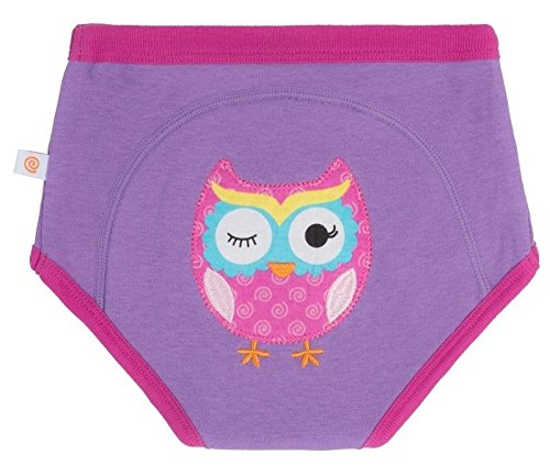 Zoocchini Training Pant 2T/3T-Olive The Owl-Single ZOO13504