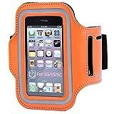 Safstar Running Jogging Sports Gym Armband Case Cover Holder for iPhone 5 5S 5C (Orange)