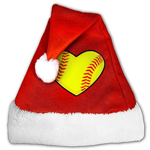 I Love Lucy Dress Costumes (Christmas Hat I Love Softball Heart Great For Christmas Parties,perfect For Boys Small)