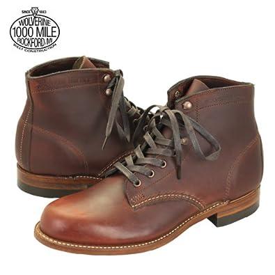 amazon ウルバリン wolverine 1000mile boots rust w05299 1000