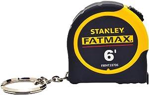 Stanley FMHT33706W Fat Max Keychain Tape Rule, 1/2-Inch by 6-Feet