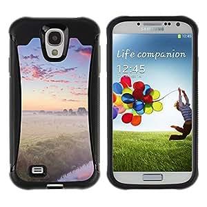 "Hypernova Defender Series TPU protection Cas Case Coque pour Samsung Galaxy S4 IV I9500 [Naturaleza Foggy Forrest""]"