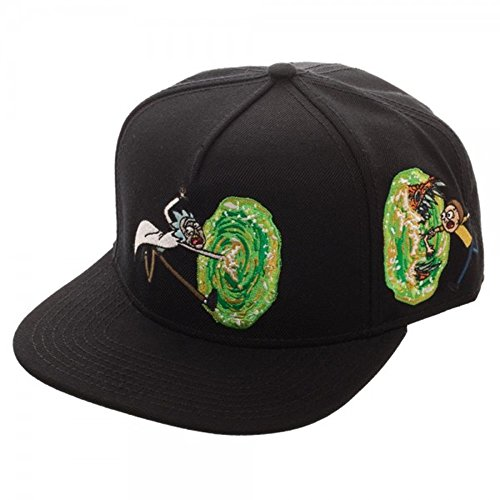 Cartoon Network_Adult Swim Rick and Morty Spaceship Adjustable Baseball Cap (Portal) by Cartoon Network_Adult Swim