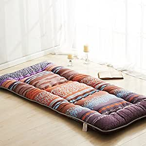 fashion colour brown futon tatami mat japanese futon mattress cheap futons for sale. Black Bedroom Furniture Sets. Home Design Ideas