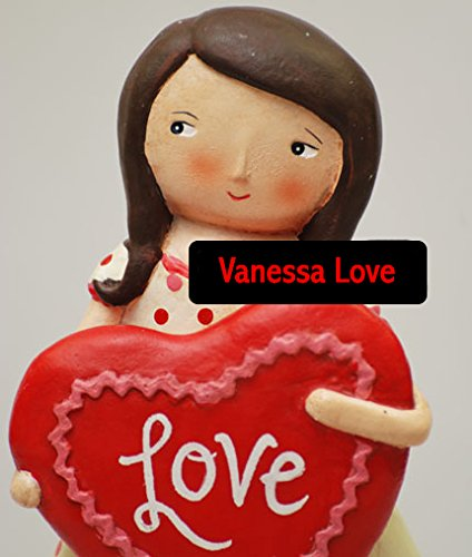 Vanessa Love Valentines Figurine by Jenene Mortimer - Retired