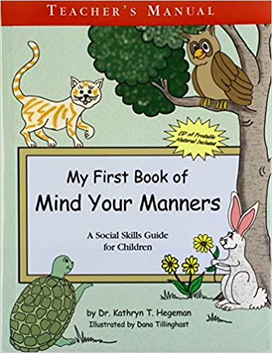Download online My First Book of Manners: Teachers Manual with CD PDF, azw (Kindle), ePub, doc, mobi
