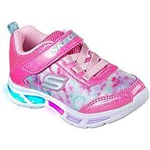 Skechers Kids Girls' Litebeams-Dance N'Glow Sneaker