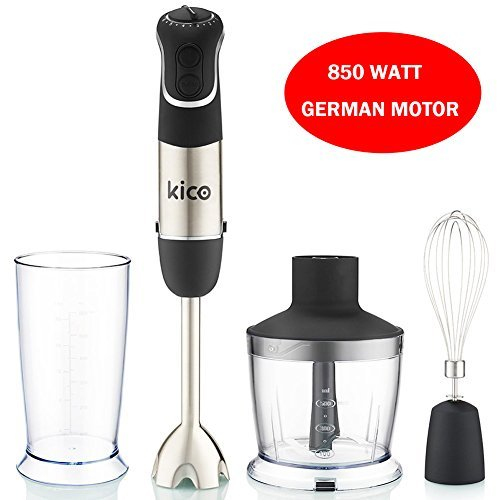 t, 850 Watt Immersion Blender, Powerful 7-Speed Stick Blender ()