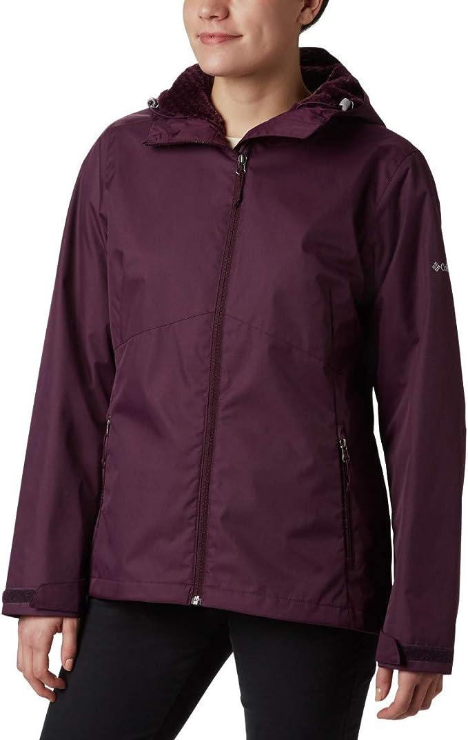码全 Columbia 哥伦比亚 Rainie Falls 防水 女式保暖棉服夹克 5折$49.98 海淘转运到手约¥442