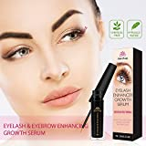 Eyelash Growth Enhancer & Brow Serum for Long, Luscious Lashes and Eyebrows(3 ML)