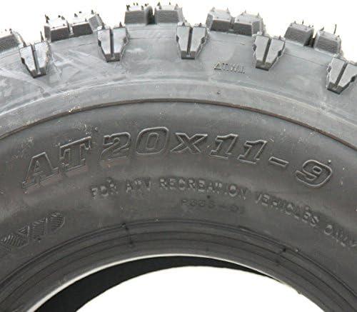 2-Pneu quad quad 20x11-9 Pneus Wanda Race P336 20 11.00 9