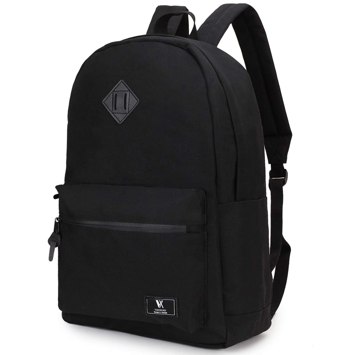 School Backpack, Unisex 15.6 In Laptop Backpack Boy Travel Daypack,Black VONXURY by VX VONXURY