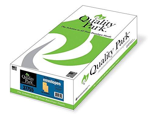 (Quality Park, Clasp Envelope, Gummed, Brown Kraft, 6x9, 100 per box (37755))