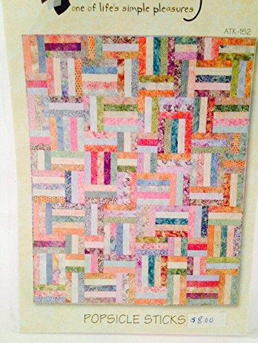 Amazon Atkinson Popsicle Sticks Jelly Roll Quilt Pattern