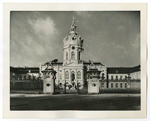 - German History - Palace, Charlottenburg, Berlin - Vintage 8x10 Photograph