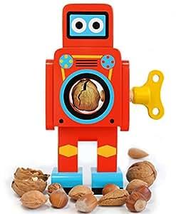 SUCK UK Robot Nutcracker - Red