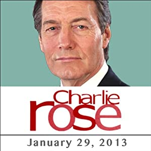Charlie Rose: Bradley Cooper and George Saunders, January 29, 2013 Radio/TV Program